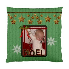 Peace/noel Cushiion Case (2 Sided) By Lil    Standard Cushion Case (two Sides)   Esbt7qyo5346   Www Artscow Com Back