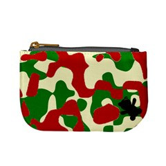 Camo Strawberries By Antonio   Mini Coin Purse   25wthut9jmta   Www Artscow Com Front
