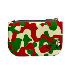 Camo Strawberries By Antonio   Mini Coin Purse   25wthut9jmta   Www Artscow Com Back