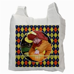 Recycle Bag Halloween By Angela Anos   Recycle Bag (two Side)   Ad8bvmx1wks6   Www Artscow Com Back