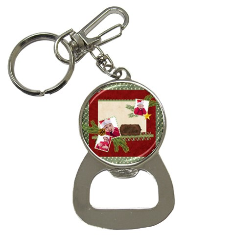 Xmas By Jacob   Bottle Opener Key Chain   V3y98sesho80   Www Artscow Com Front