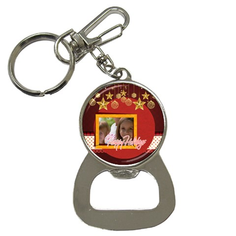 Xmas By Jacob   Bottle Opener Key Chain   Aeq5jdxfgkpl   Www Artscow Com Front