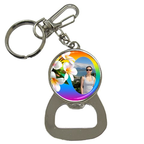 Tropical Bottle Opener Key Chain By Deborah   Bottle Opener Key Chain   925d0cb2tgwk   Www Artscow Com Front