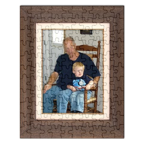 Liam And Grampa Puzzle By Sherry Olford   Jigsaw Puzzle (rectangular)   Tuec4ig7xhdn   Www Artscow Com Front