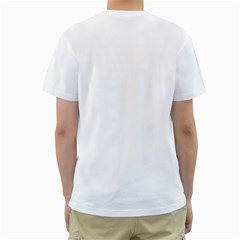 Vigilo Confido White Shirt By Ki Tat Chung   Men s T Shirt (white) (two Sided)   Re37tuuee5q0   Www Artscow Com Back