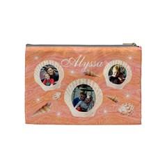 Cosmetic Bag (medium)   Seashells By Lmw   Cosmetic Bag (medium)   Acpxuqzyoozl   Www Artscow Com Back