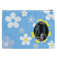 Daisy Cosmetic Bag (xxl) By Deborah   Cosmetic Bag (xxl)   We7sw4bq9fgh   Www Artscow Com Back
