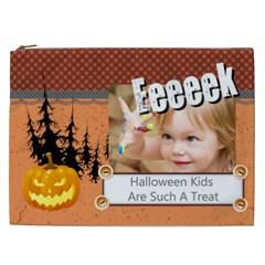 Halloween By Joely   Cosmetic Bag (xxl)   Zbbfnakqc9y4   Www Artscow Com Front