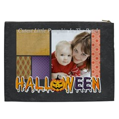 Halloween By Joely   Cosmetic Bag (xxl)   Sbhjrtfuqzmo   Www Artscow Com Back