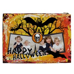 Halloween By Joely   Cosmetic Bag (xxl)   Aeu9sxkmu0ma   Www Artscow Com Back