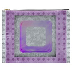 Purple Xxxl Cosmetics Bag By Catvinnat   Cosmetic Bag (xxxl)   Qnfpq6px1yxx   Www Artscow Com Front