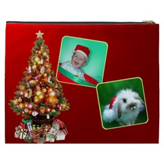 Christmas Things 2 Cosmetic Bag Xxxl By Deborah   Cosmetic Bag (xxxl)   Fifzztx6lu9y   Www Artscow Com Back
