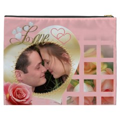My Heart Cosmetic Bag Xxxl By Deborah   Cosmetic Bag (xxxl)   U2ce8bnojbp6   Www Artscow Com Back