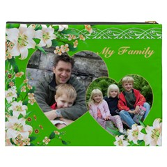 My Family Cosmetic Bag Xxxl By Deborah   Cosmetic Bag (xxxl)   Hruv919kcae1   Www Artscow Com Back