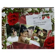 Our Uk Wedding Cosmetic Bag Xxxl By Deborah   Cosmetic Bag (xxxl)   Qgs5ewwrmoph   Www Artscow Com Front