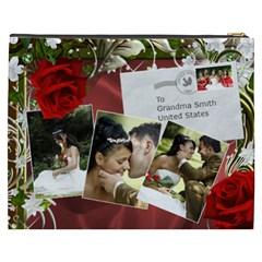 Our Uk Wedding Cosmetic Bag Xxxl By Deborah   Cosmetic Bag (xxxl)   Qgs5ewwrmoph   Www Artscow Com Back