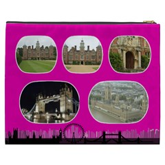 My London Cosmetic Bag Xxxl By Deborah   Cosmetic Bag (xxxl)   401rrpn6sfs4   Www Artscow Com Back