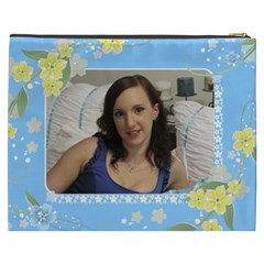 Sunny Days Cosmetic Bag Xxxl By Deborah   Cosmetic Bag (xxxl)   Zohohorqdqz0   Www Artscow Com Back