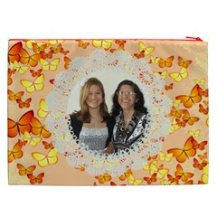 Butterflies Cosmetic Bag (xxl) 2 Sides By Kim Blair   Cosmetic Bag (xxl)   Gh8tgpwkddw9   Www Artscow Com Back