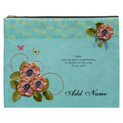 Cosmetic Bag (xxxl)   Flowers Bloom By Jennyl   Cosmetic Bag (xxxl)   Mt4i568759bh   Www Artscow Com Front