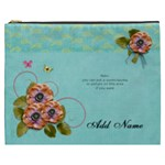 Cosmetic Bag (XXXL) - Flowers Bloom