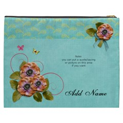 Cosmetic Bag (xxxl)   Flowers Bloom By Jennyl   Cosmetic Bag (xxxl)   Mt4i568759bh   Www Artscow Com Back