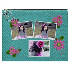 Cosmetic Bag (xxxl)   In Bloom By Jennyl   Cosmetic Bag (xxxl)   D407hgozbssh   Www Artscow Com Front