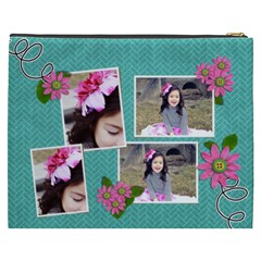 Cosmetic Bag (xxxl)   In Bloom By Jennyl   Cosmetic Bag (xxxl)   D407hgozbssh   Www Artscow Com Back
