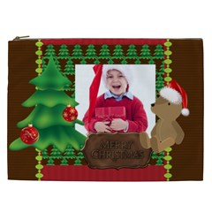 Xmas By Jacob   Cosmetic Bag (xxl)   Tkxgaz4k0th1   Www Artscow Com Front