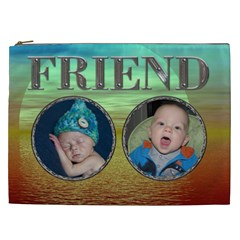 Friend Xxl Cosmetic Bag By Lil    Cosmetic Bag (xxl)   Keycxeg0krsm   Www Artscow Com Front