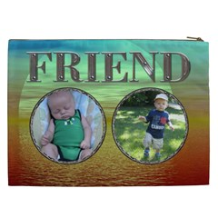 Friend Xxl Cosmetic Bag By Lil    Cosmetic Bag (xxl)   Keycxeg0krsm   Www Artscow Com Back