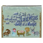 Away in a Manger XXXL  Gift Cosmetics Bag - Cosmetic Bag (XXXL)