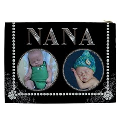 Nana Xxl Cosmetic Bag By Lil    Cosmetic Bag (xxl)   Whn3uev0cekp   Www Artscow Com Back