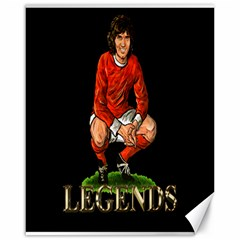 George Best Canvas 16  x 20  by OurInspiration