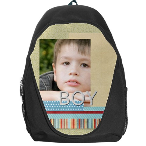 Boy By Jacob   Backpack Bag   Fqrixswo7zio   Www Artscow Com Front