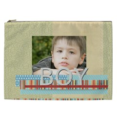 Boy By Jacob   Cosmetic Bag (xxl)   11kv3624snbo   Www Artscow Com Front