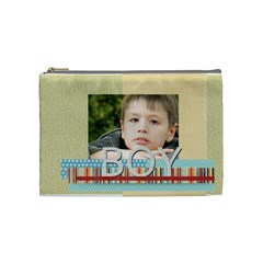 Boy By Jacob   Cosmetic Bag (medium)   Mqeg1ttddxa6   Www Artscow Com Front