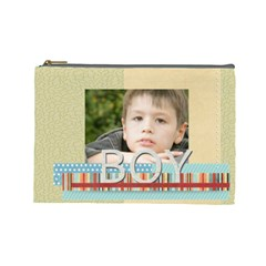Boy By Jacob   Cosmetic Bag (large)   Z6z9rpyv8tdl   Www Artscow Com Front