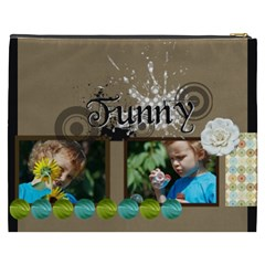 Funny By Jacob   Cosmetic Bag (xxxl)   Auswwca9slo6   Www Artscow Com Back