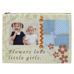 flower - Cosmetic Bag (XXL)