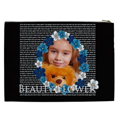 Flower By Joely   Cosmetic Bag (xxl)   Gjdxg4kb9lq7   Www Artscow Com Back