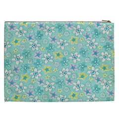 Cosmetic Bag Xxl Magic Flower By Deca   Cosmetic Bag (xxl)   Pybe35k02ehq   Www Artscow Com Back