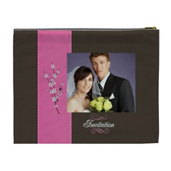 Wedding By Jacob   Cosmetic Bag (xl)   Lmr4trae58zw   Www Artscow Com Back