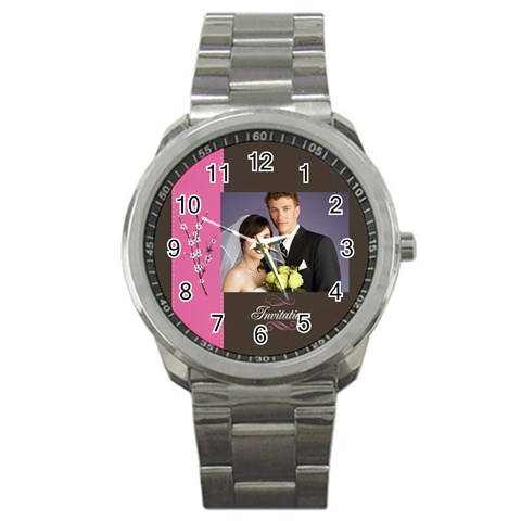 Wedding By Jacob   Sport Metal Watch   R7t0sbw1si6p   Www Artscow Com Front