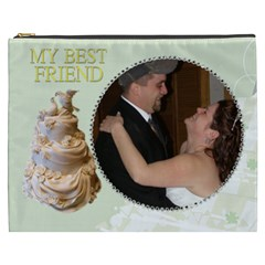 Our Wedding Cosmetic Bag (xxxl) 2 Sides By Kim Blair   Cosmetic Bag (xxxl)   Lw0r7jj0exm1   Www Artscow Com Front