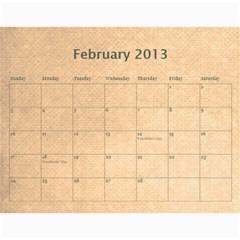 2013 Calendar By Melissa   Wall Calendar 11  X 8 5  (12 Months)   Katvzvbdelv8   Www Artscow Com Feb 2013
