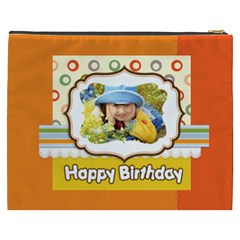 Happy Birthday By Divad Brown   Cosmetic Bag (xxxl)   Rmd8itwimva4   Www Artscow Com Back