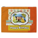 happy birthday - Cosmetic Bag (XXL)