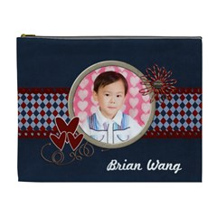 Brian By Jennifer Wang   Cosmetic Bag (xl)   8pw5a8fmw38x   Www Artscow Com Front