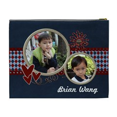 Brian By Jennifer Wang   Cosmetic Bag (xl)   8pw5a8fmw38x   Www Artscow Com Back